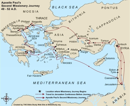 Source: http://www.biblestudy.org/maps/apostle-paul-second-missionary-journey-map.html